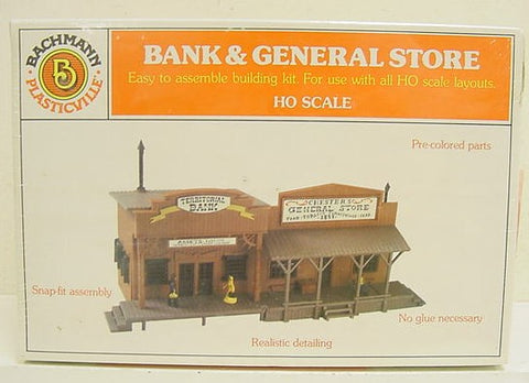 Plasticville 2913 Bank and General Store