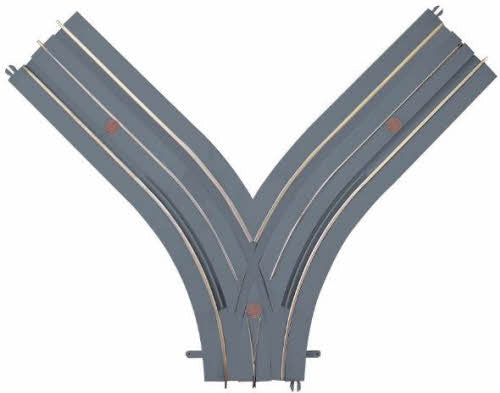 "Lionel 6-21287 O SuperStreets ""Y"" Roadway Track Section"