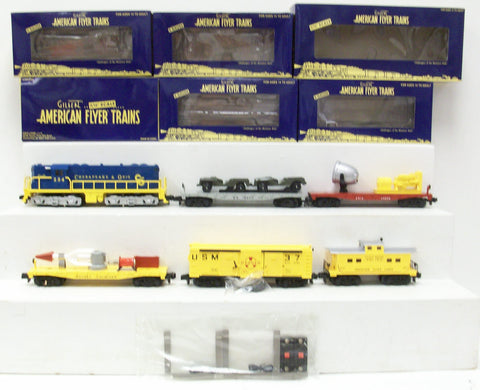 AF 6-49624 S Scale American Flyer 1959 Defender Set #20525
