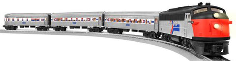 Lionel 6-81266 Amtrak LionChief  Passenger Train Set w/Sounds & Remote