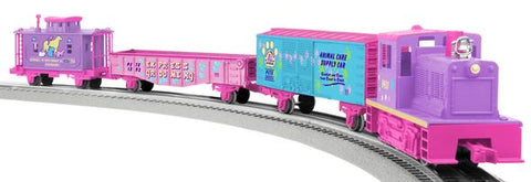 Lionel 6-81288 Pet Shop Diesel LionChief Train Set with Reomte Control