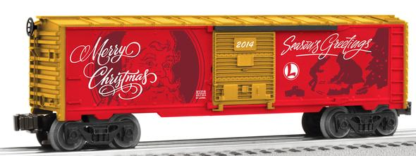 Lionel 6-81316 O Personalized Message Christmas Boxcar