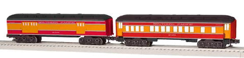 Lionel 6-81774 O Southern Pacific Daylight Madison Car Coach & Baggage 2-Pack