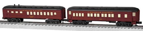 Lionel 81783 O CP Madison Car 2pk/Coach,Diner