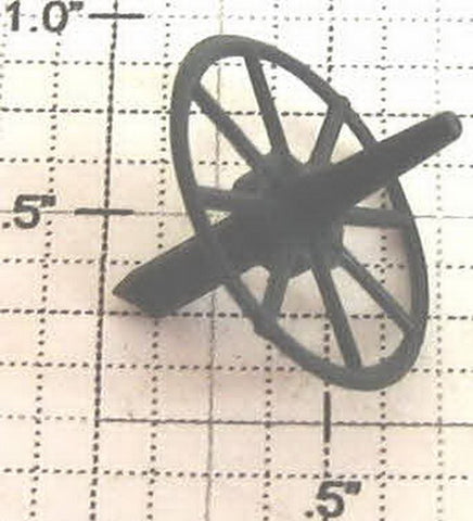 Lionel 622-10 Black Radio Wheel