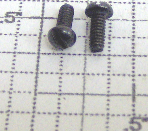 Lionel 2-56x1/4RH 773 Turbo Generator Screw (6)