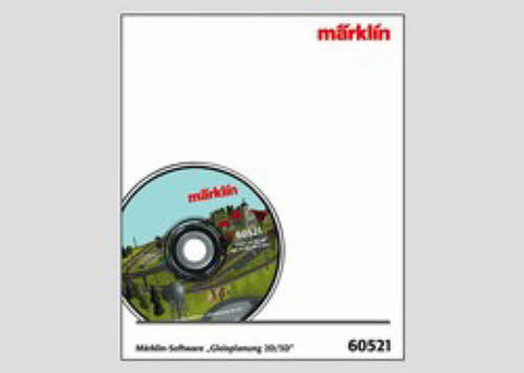 Marklin 60521 HO Software Track Planing 2D/3D Version 6.0