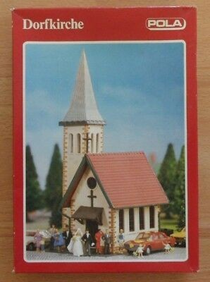 Pola 605 HO Dorpskerk Church Building Kit