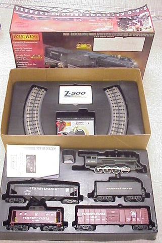 MTH 30-4023-1 Pennsylvania 2-8-0 Keystone Freight Express Set LN/Box