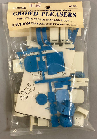 NJ International 6195 HO Scale Environmental Container Set Kit