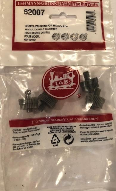LGB 62007 Idler Gears for Mogul Locomotive (Pack of 4)