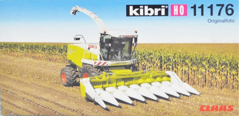 Kibri 11176 1:87 HO Claas Jaguar 880 Harvester Building Kit