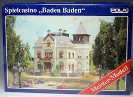 "Pola 680 HO ""Baden Baden"" Casino Building Kit"