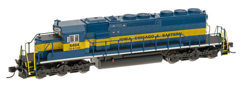 InterMountain 69324S N Iowa Chicago & Eastern SD40-2 w/DCC Sound Locomotive