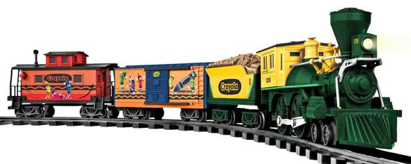 Lionel 7-11548 G Crayola Large Scale Train Set