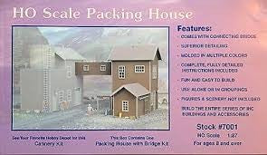 IHC 7001 HO Scale Packing House Building Kit