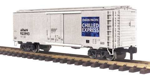 MTH 70-78041 G Scale Union Pacific Railking 40' Reefer with Metal Wheels #922993