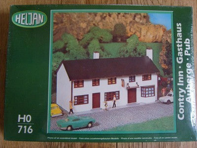 Heljan 716 HO Country Inn Building Kit