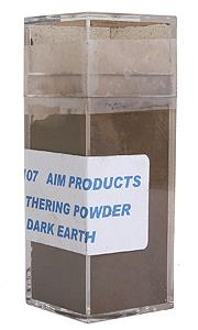 AIM 3107 HO Dark Earth 1oz Wheathering Powder