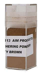 AIM 3113 HO Dusty Brown Weathring Powder