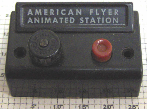 American Flyer 766C S Scale American Flyer Animated Station Control Box