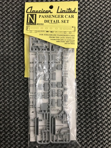 American Limited Models 8050 N Roof & Underframe Accessories