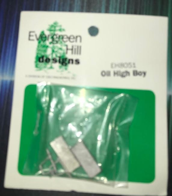 Evergreen Hill 8051 O White Metal Oil High Boy (Pack of 2)