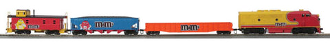 MTH 81-4004-1 Mars - M&M HO Scale F-3 Diesel R-T-R Deluxe Freight Train Set