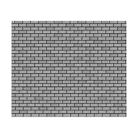 Micro-Mark 83219 O Medium Gray Shingle Textured Building Paper (Pack of 4)