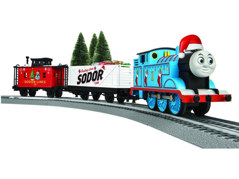 Lionel 6-83512 O Thomas Christmas LionChief Set