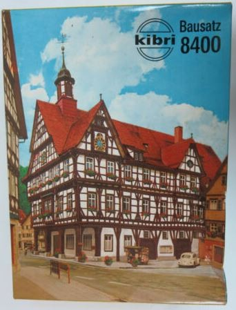 Kibri 8400 Town Hall Building Kit