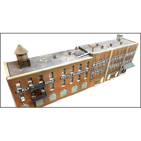 Downtown Deco 1055 HO Front Street Flat Building Kit