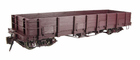 Bachmann 88299 Low Side Gondola w/ Opening Side Doors (Metal Wheels) LN/Box