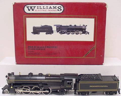 Williams 6001 PRR BRASS K4 Pacific Steam Locomotive