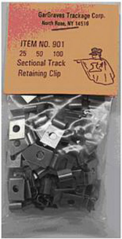 Gargraves 901.1 Sectional Track Retaining Clips (100)