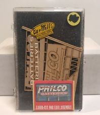 Bar Mills 90601 N Philco Batteries Billboard Laser Cut Kit