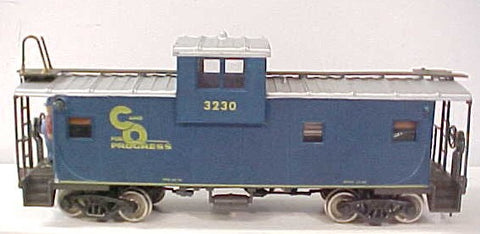 Atlas 3230 2-Rail Chesapeake &  Ohio Blue Caboose