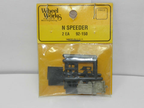 Wheel Works 92-150 N Scale Speeder Kit