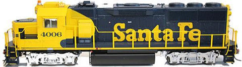 Fox Valley Models 70701 N Santa Fe EMD GP60 Diesel Locomotive Standard DC #4001