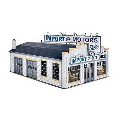 Walthers 933-4023 HO 1960-70's Import Motors Plastic Building Kit