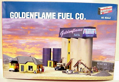 Walthers 933-3087 Goldenflame Fuel Company HO Building Kit