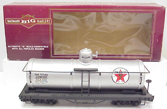 Bachmann 93432 G Texaco Single Dome Tank Car TCX #422