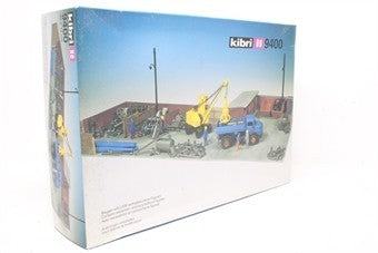 Kibri 9400 HO Crane and Junk Yard Building Kit