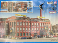 Kibri 9810 HO Siux Shoe Factory Building Kit