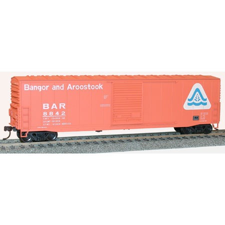 Accurail 5723 HO Bangor and Aroostook - Welded AAR Box Kit #8842