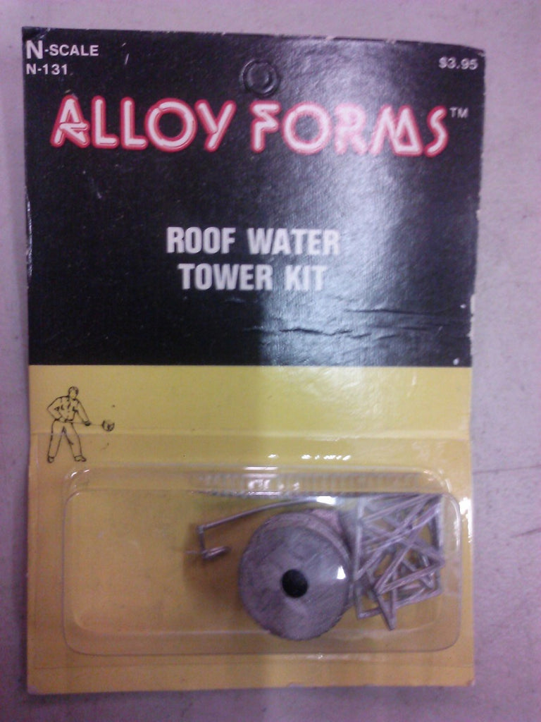 Alloy Forms 131 N Scale Roof Water Tower Kit Unpainted
