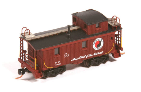 American Model Builders 553 N NP 1200 Series Wood Cupola Caboose Kit