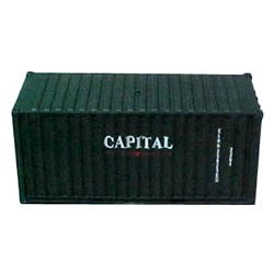 Athearn 2180 HO 20' Capital Shipping Containers (2)