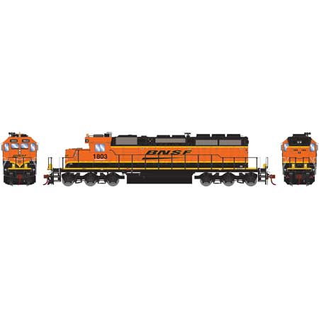 Athearn 71641 HO RTR SD39-2 w/DCC & Sound, BNSF/Wedge #1803