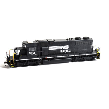 Athearn 88585 HO Norfolk Southern SD38 with DCC & Sound Ready to Run #3801